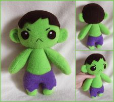 Little Hulk by MagnaStorm