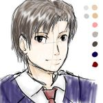 Matsuda -first try with tablet by Shel-chan