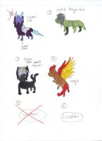 Themed adopts 2 (closed) FREE by XTwilight-SerenityX