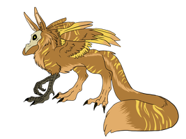 SkullGriffin Hatchling 4 by ShadowInkAdopts