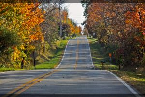 Hilly Road by shaguar0508