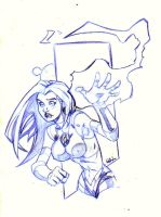 Starfire and her Twins by RAHeight2002-2012