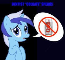 Concerned Colgate Speaks by Thundercracker417