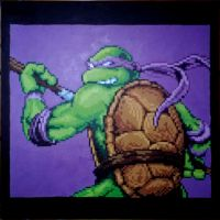 TMNT - Donatello by Squarepainter
