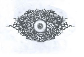 Tribal eye by ei3ga