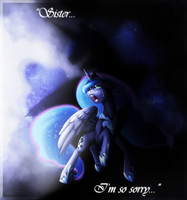 Sister, I'm so sorry... by DoeKitty