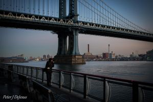 Sunset Bridge Photographer 03 by peterjdejesus