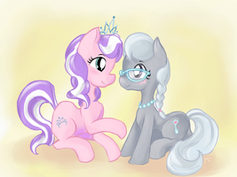 Diamond Tiara and Silver Spoon by Dreubug