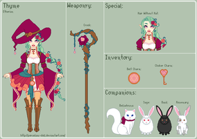 WoR - Thyme Reference Sheet by porcelian-doll