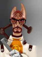 Mordin Freeman by SwtColey
