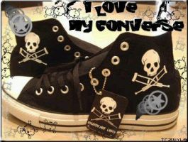 converse by TristYleEmo