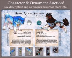 Character Auction - Stigandr and Asora - Closed by soulofwinter