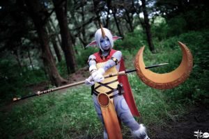 By the power of the stars. (LOL soraka cosplay) by SoDeco