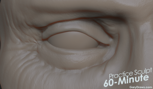 Buscemi's Eye - 60-Minute Practice Sculpt by GaryStorkamp