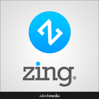Zing Logo by messinmotion