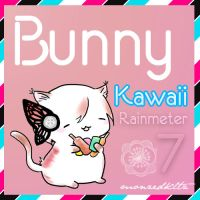 Bunny Kawaii Rainmeter 7 by monzedkltz