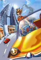 Crazy Taxi in Malaysia by dragonteo