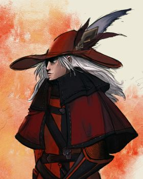 Red mage by Fratly