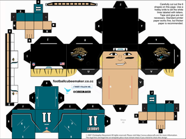 Blaine Gabbert Jaguars Cubee by etchings13