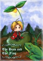 FMA - The bean and   frog by raidenokreuz76