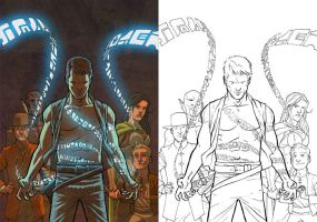 The Unmade Man Cover Colors by JerMohler