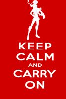 Keep Calm and Be Caitlyn by Brimana