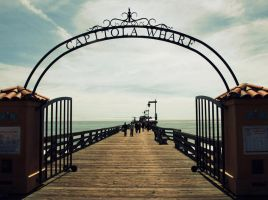 Capitola Wharf by Converse001