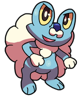 Froakie by LizardonEievui13