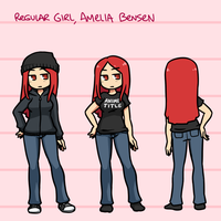 Regular Amelia Character Sheet by Nami-Tsuki