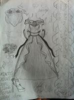 Princess Cadence Wedding Outfit (My Version) by harvardmed1896