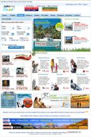 Travel-hotel page by webiant