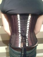 Back of Corset by Blackeyes1001