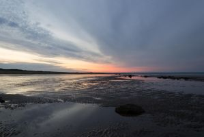 Barmston in the sunset by bassistchick