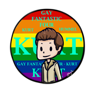 Gay Fantastic Four - Kurt by TanjaSumer