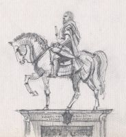 Equistrian statue- FLORENCE by nono6901