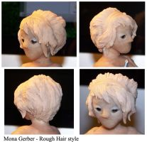 Mona Gerber Rough Hair by unclefreak