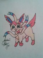 Chibi sylveon by Miku-chan9