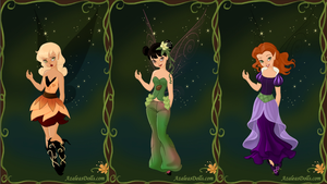 Tinker Bell Preview by AzaleasDolls