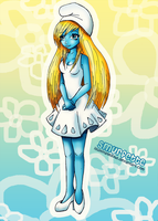 Smurfette by IlluminatedOwl
