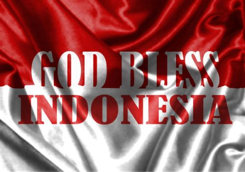 God Bless Indonesia by gidz777