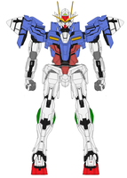 GN-0000 00 Gundam by bagera3005
