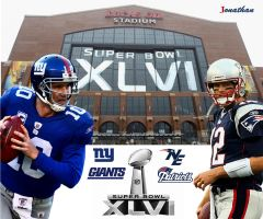 Super Bowl 46 NYG vs NEP by mayosia