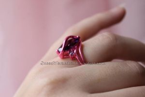 Pink and purple ring by Rongxing Jewelry VI by QueenWerandra