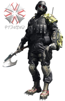 HUNK - Umbrella Corps Render [PNG] by 972oTeV