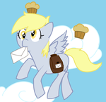 Derpy, Being Derpy, IN COLOR!!! by JamminForLife