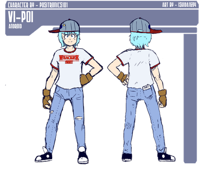 Vi-Poi - Character Ref Sheet Commission by Ishida1694