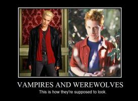 Vamps and 'wolves by RamblingRogue