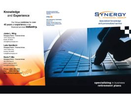 Synergy Brochure Outside by Darkdesyre