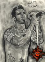 Sully Erna from Godsmack by ThunderhillPaints