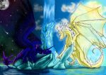 Day and Night by Mondfalke